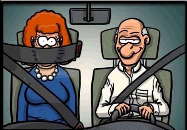 Почему нужны ремни безопасности?